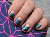 DIY Nails With Shimmer