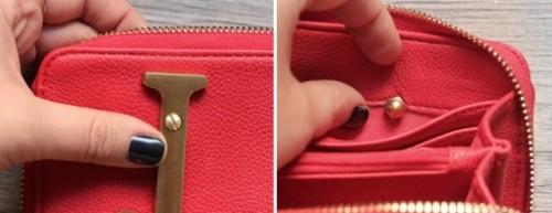 DIY Nameplate Wallet Not To Lose It