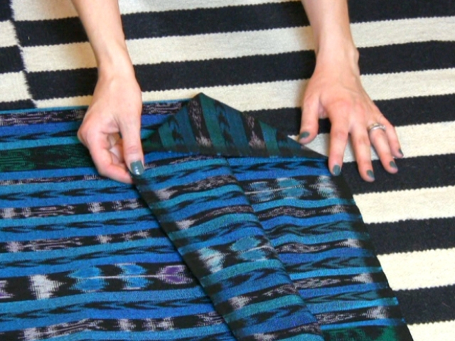 Picture Of DIY No Sew Caftan 2