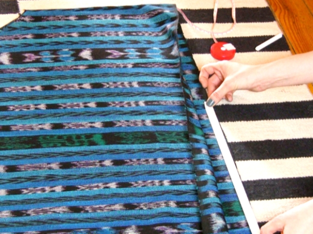 Picture Of DIY No Sew Caftan 9