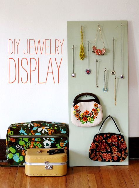 DIY Original Jewelry Display