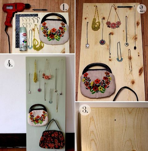Original DIY Jewelry Display