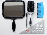 DIY Set Of Brush And Mirror 2