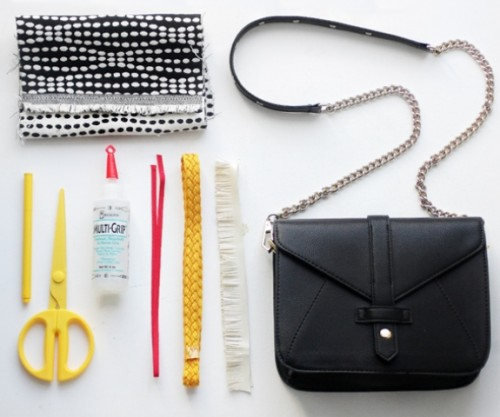 DIY Stylish Embellished Bag