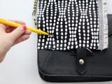DIY Stylish Embellished Bag2