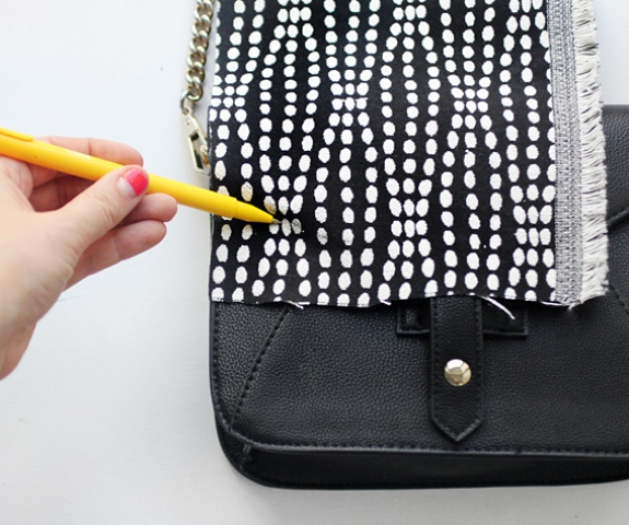 Picture Of DIY Stylish Embellished Bag 2