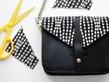 DIY Stylish Embellished Bag3