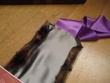 DIY Stylish Faux Fur And Satin Neckwarmer10