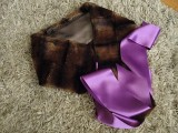 DIY Stylish Faux Fur And Satin Neckwarmer11
