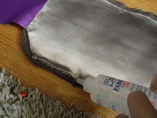 DIY Stylish Faux Fur And Satin Neckwarmer