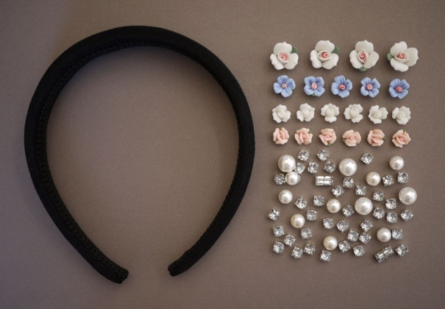 Picture Of DIY Tiara In Baroque Style 2