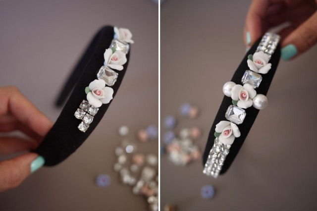 Picture Of DIY Tiara In Baroque Style 5