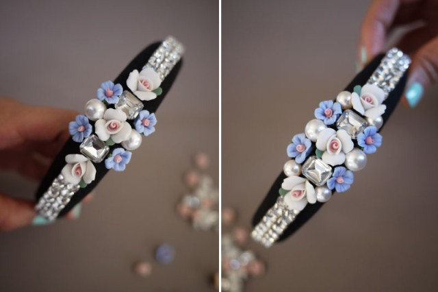 Picture Of DIY Tiara In Baroque Style 6