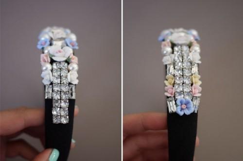 DIY Tiara In Baroque Style
