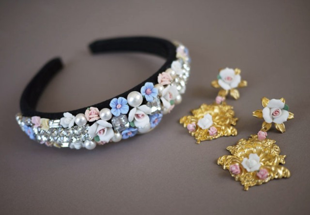 Picture Of DIY Tiara In Baroque Style 9