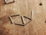 DIY Triangle Prism Necklace 4