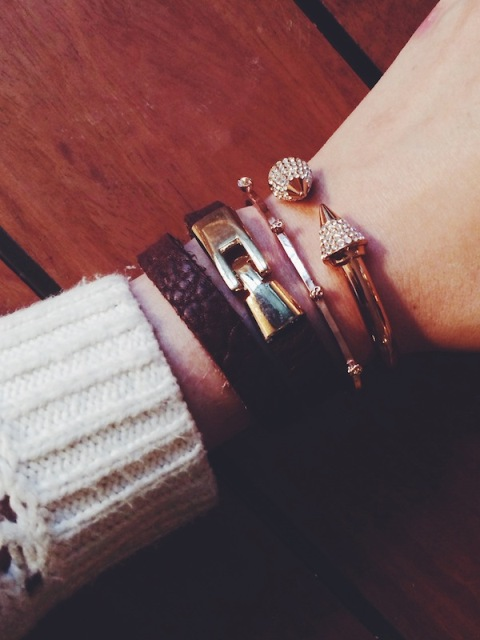 Easy DIY Leather Cuff