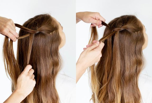 Picture Of Delicate DIY A Waterfall Twist 3