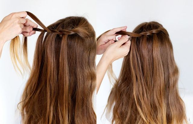 Picture Of Delicate DIY A Waterfall Twist 4