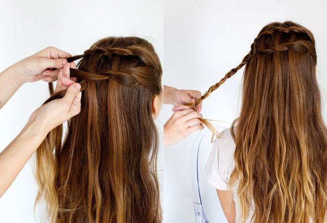 Picture Of Delicate DIY A Waterfall Twist 6