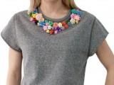 Delicate DIY Floral Sweatshirt