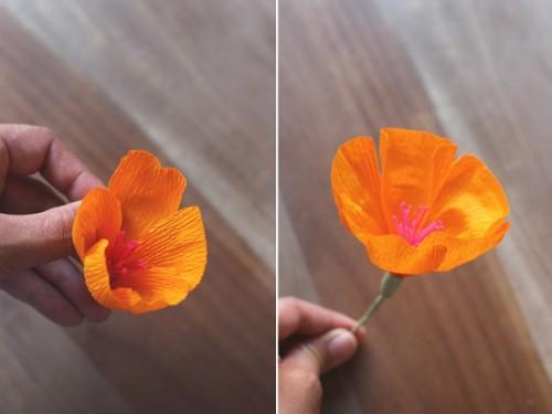 Delicate DIY Paper Flower Crown
