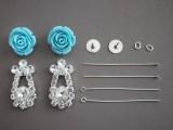 Delicate DIY Rose Earrings2