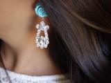 Delicate DIY Rose Earrings8
