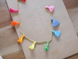 Easy-To-Make DIY Beaded Tassel Necklace5