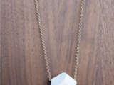 Easy-To-Make DIY Elegant Geometric Necklace3