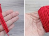 Easy-To-Make DIY Original Pom Pom Tote3