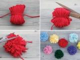 Easy-To-Make DIY Original Pom Pom Tote4