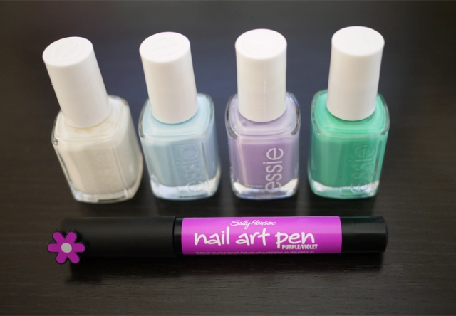 Picture Of Easy To Make DIY Quick Nail Art 2