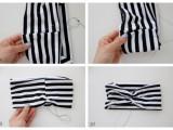 Elegant And Simple DIY Headwrap6