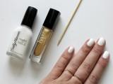 Elegant DIY Dots Nail Art With Delicate Rings2