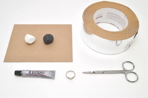 Elegant DIY Faux Marble Ring