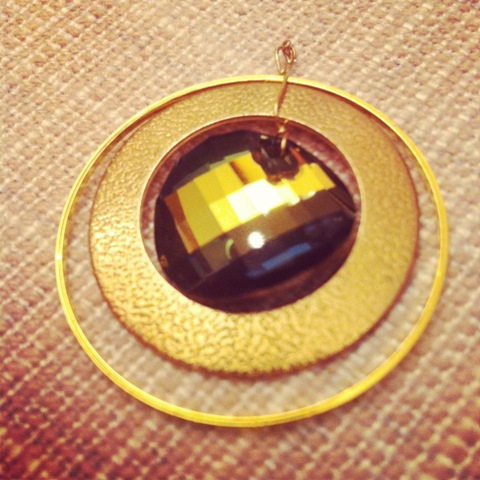 Elegant DIY Swarovski Sun Earrings