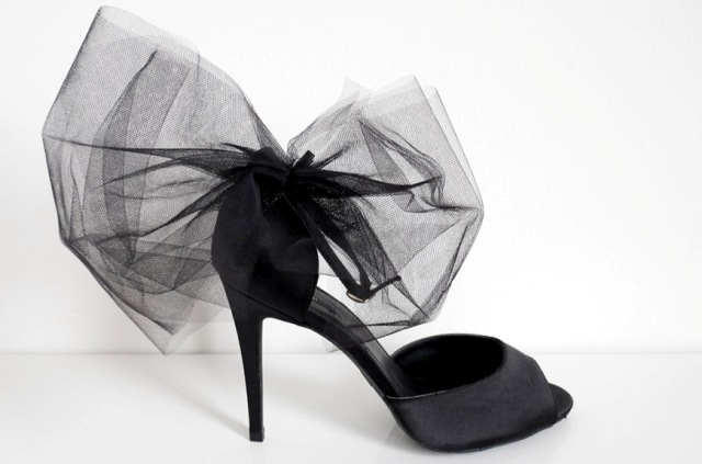 Picture Of Excellent DIY Bow Heels 7