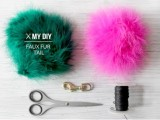 Eye-Catching DIY Faux Fur Tail For Your Bag