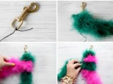 Eye-Catching DIY Faux Fur Tail For Your Bag2