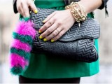 Eye-Catching DIY Faux Fur Tail For Your Bag4