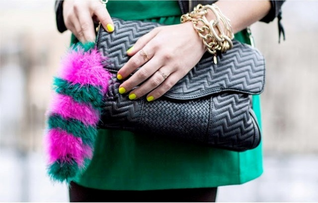 Picture Of Eye Catching DIY Faux Fur Tail For Your Bag 4