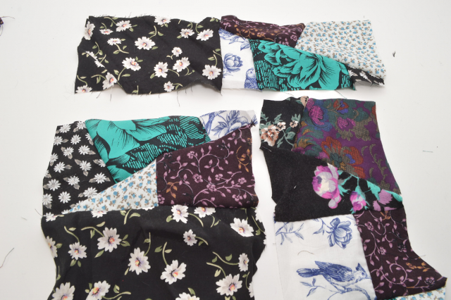 Picture Of Eye Catching DIY Floral Patchwork Denim Vest 10