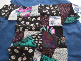 Eye-Catching DIY Floral Patchwork Denim Vest11
