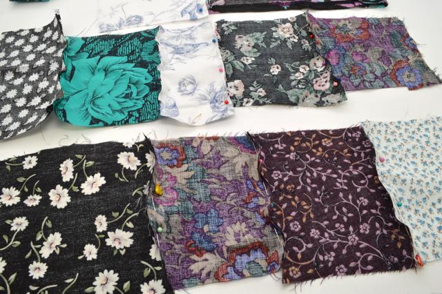 Picture Of Eye Catching DIY Floral Patchwork Denim Vest 4