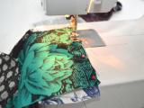 Eye-Catching DIY Floral Patchwork Denim Vest6