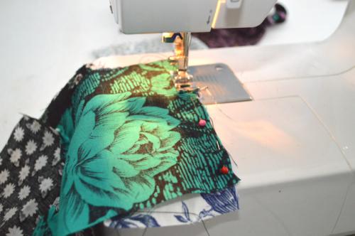 Eye Catching DIY Floral Patchwork Denim Vest