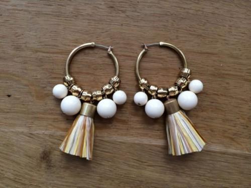 Fabulous DIY Earrings From Brass Headpins