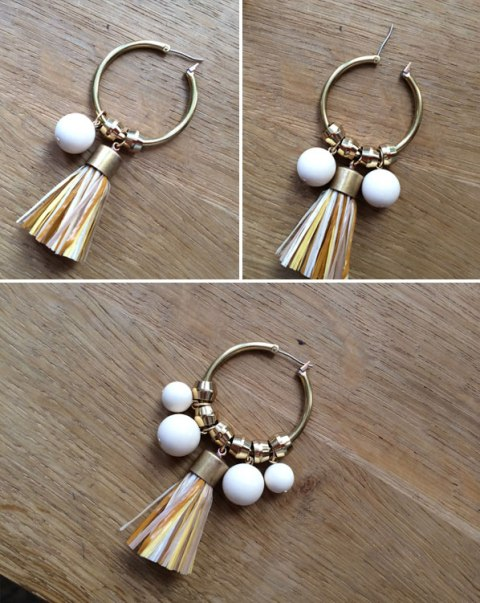 Picture Of Fabulous DIY Earrings For This Summer 7
