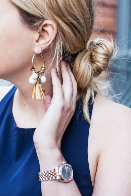 Fabulous DIY Earrings From Brass Headpins